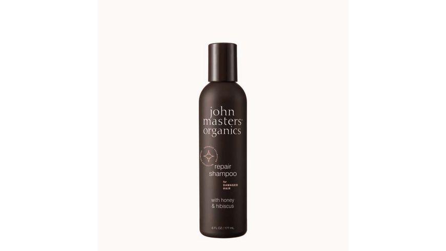 john masters organics honey hibiscus hair reconstructing shampoo