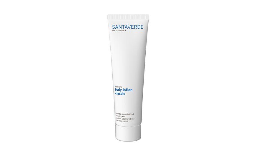 Santaverde body lotion classic