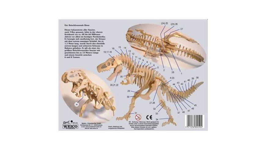 Weico 80450 Tyrannosaurus Rex Holzbausatz