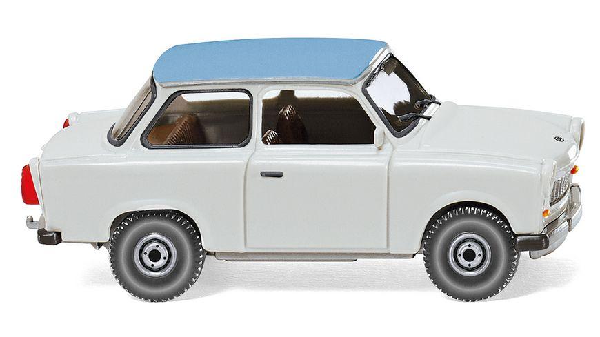 WIKING 012905 Trabant 601 S de Luxe hellgrau mit pastellblauem Dach