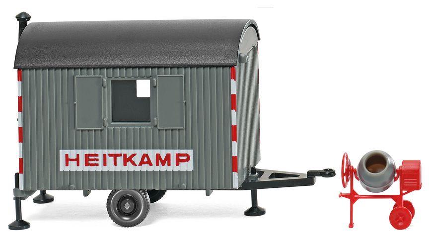 WIKING 065606 Bauwagen Heitkamp mit Mischmaschine