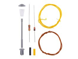 Viessmann N Bausatz Strassenleuchte LED weiss