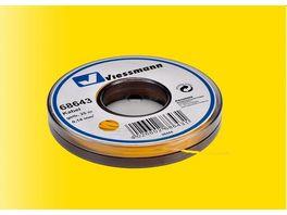 Viessmann 68643 Kabel auf Abrollspule 0 14 mm gelb 25 m