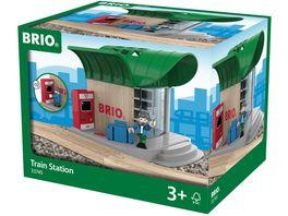 BRIO Bahn Bahnhof mit Sound