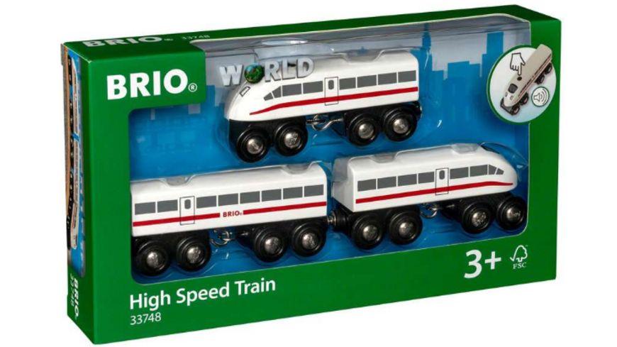 BRIO Bahn - Schnellzug mit Sound, 3teilig