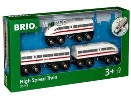 BRIO Bahn Schnellzug mit Sound 3teilig