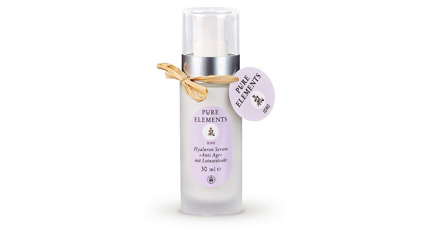 PURE ELEMENTS Hyaluron Serum Anti Age mit Lotusextrakt