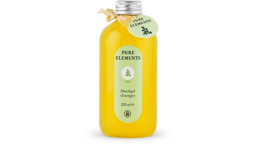 PURE ELEMENTS Chi Duschgel Energie