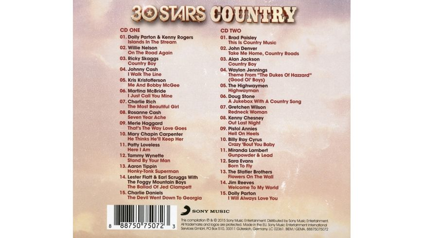 30 Stars Country