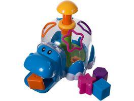 Bieco Funny Hippo Steckbox