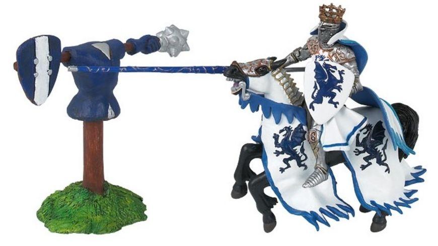 Papo Drachenkoenig blau