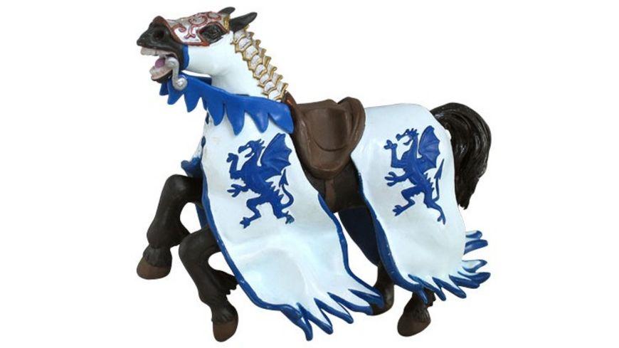 Papo Pferd des Drachenkoenigs blau