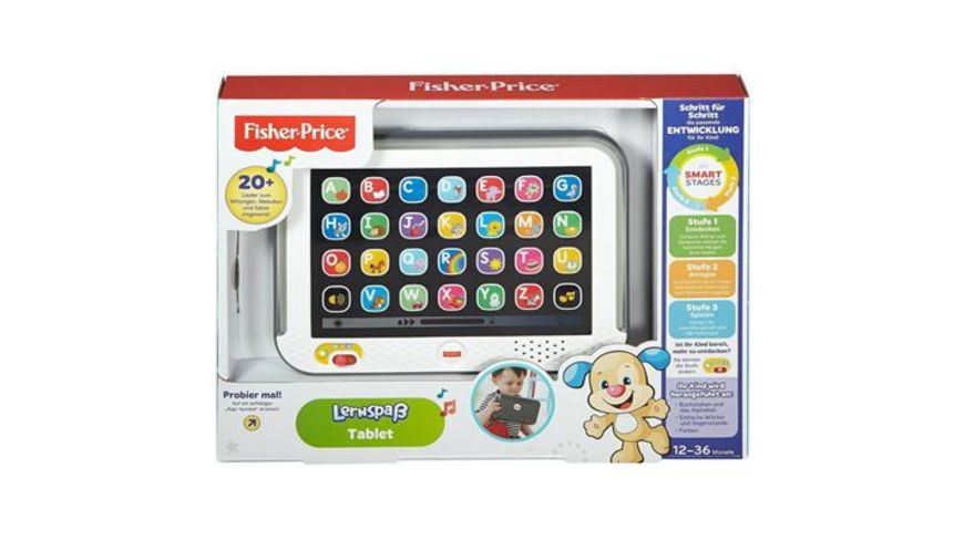 Fisher Price Lernspass Tablet grau