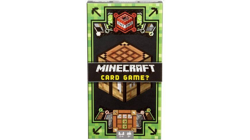 Mattel Games Minecraft Kartenspiel Display