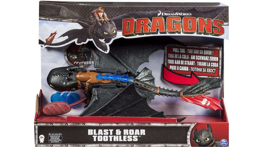 Spin Master How to train your dragon Blast n Roar Toothless