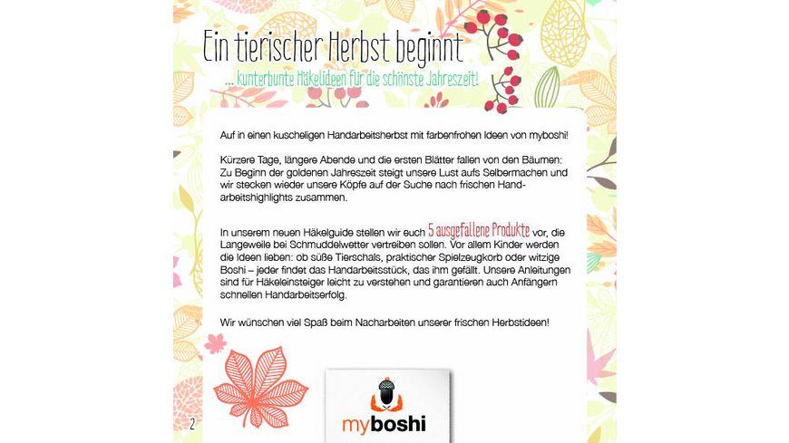 myboshi Haekelguide Vol 14 Tierischer Herbst