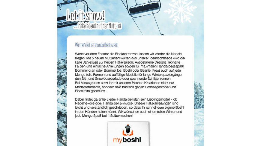myboshi Haekelguide Vol 16 Winterwonderland