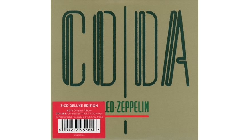 Coda Reissue Deluxe Edition