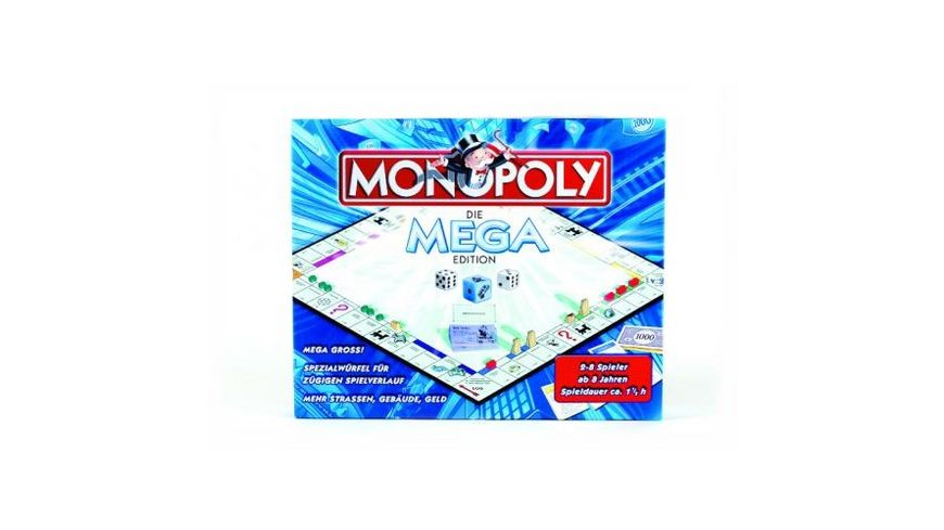 Winning Moves Monopoly Sonder Edition Mega Monopoly