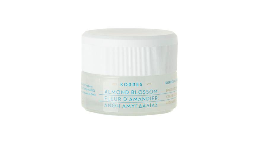 KORRES Almond Blossom Feuchtigkeitscreme oelige Haut Mischhaut