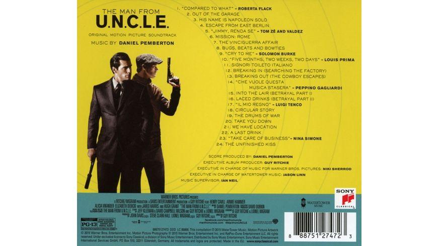 The Man From U N C L E Codename U N C L E OST