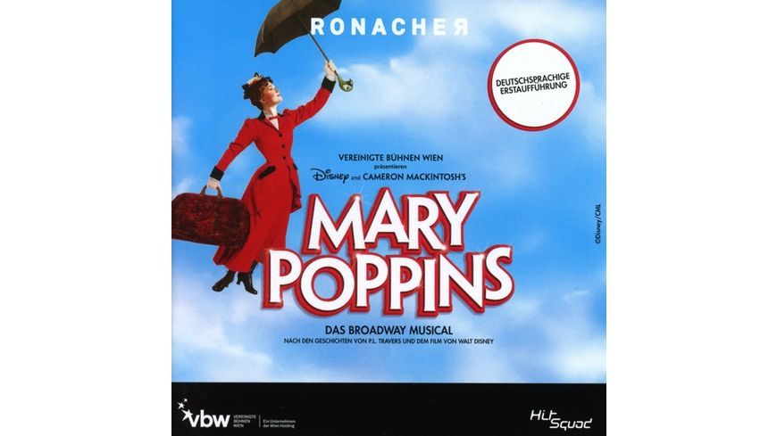 Mary Poppins Das Broadway Musical