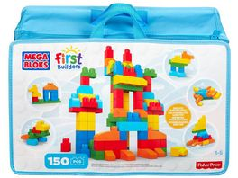Fisher Price Mega Bloks First Builders Bausteinebeutel Deluxe 150 Teile Grundfarben Refresh
