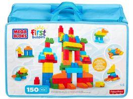 Mega Bloks Bausteintasche bunt 150 Teile