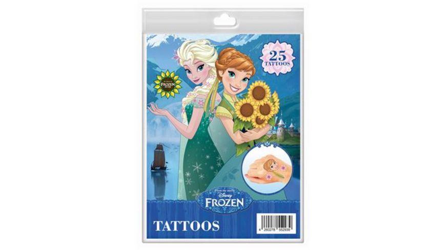 CRAZE Disney Frozen Tattoos Fashion Set