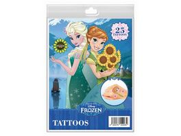 CRAZE Disney Frozen Tattoos Fashion Set