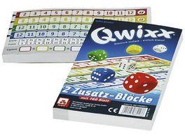 Nuernberger Spielkarten Qwixx Zusatzbloecke 2er
