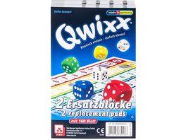 Nuernberger Spielkarten Qwixx Ersatzbloecke 2er