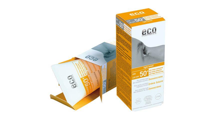 ECO Sonnencreme leicht getoent LSF 50