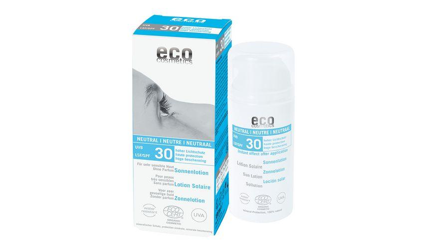 ECO Sonnenlotion neutral LSF 30