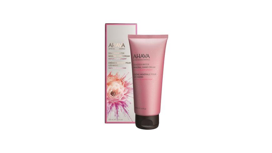 AHAVA Mineral Hand Cream Cactus Pink Pepper