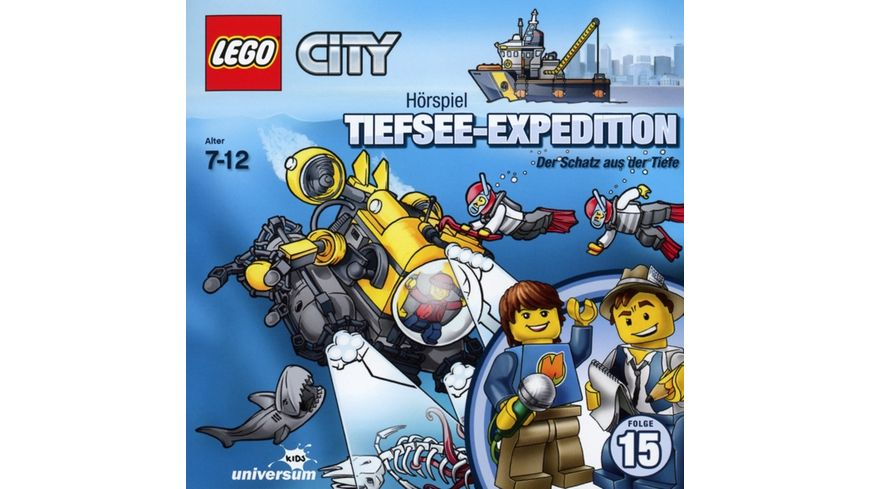 LEGO City 15 Tiefsee Expedition