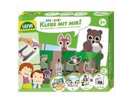 Lena 42631 Klebe mit mir Wald Tiere