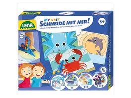 Lena 42632 Schneide mit mir Meeres Tiere