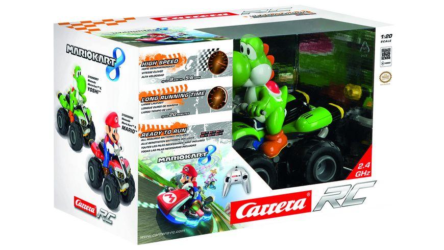 Carrera RC 1 20 Nintendo Mario Kart 8 Yoshi 2 4 GHz B O