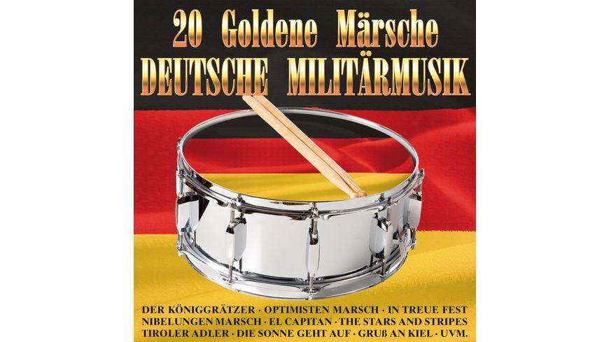 20 goldene Maersche Deutsche