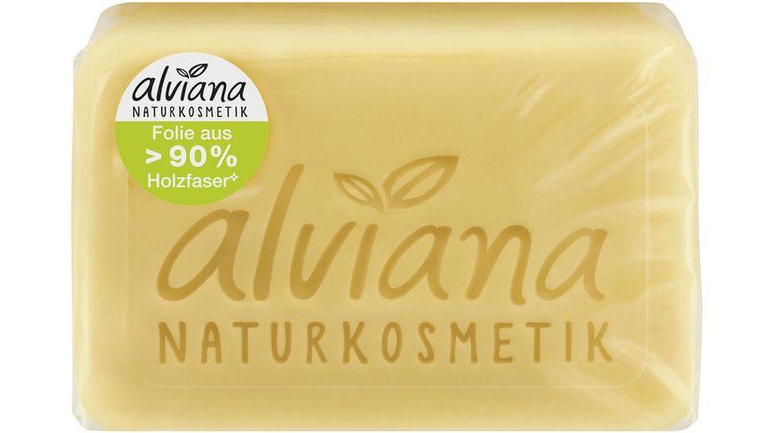alviana Pflanzenoelseife Milch Honig