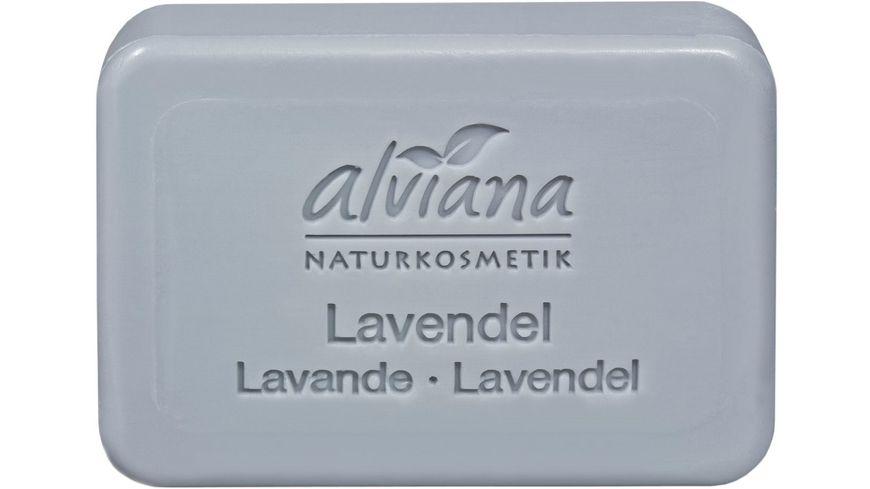 alviana Pflanzenoelseife Lavendel