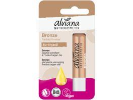 alviana Lippenpflegestift Bronze