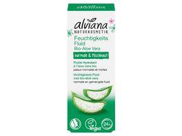 alviana Feuchtigkeitsfluid Aloe Vera