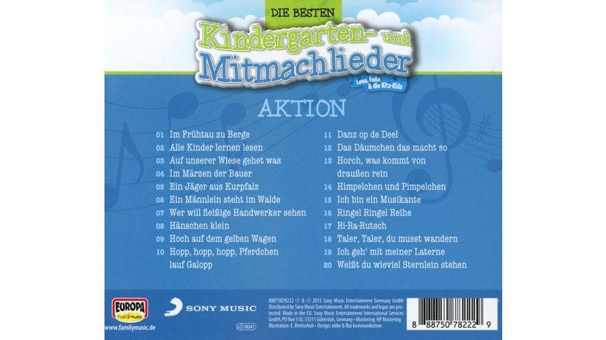 Die besten Kindergarten und Mitmachlieder Vol 5