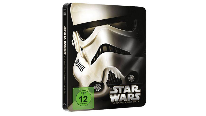 Star Wars Das Imperium schlaegt zurueck Limited Edition Steelbook Blu ray Disc