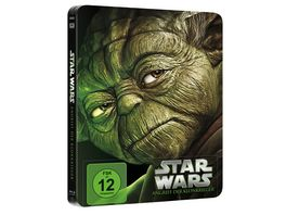 Star Wars Angriff der Klonkrieger Limited Edition Steelbook Blu ray Disc