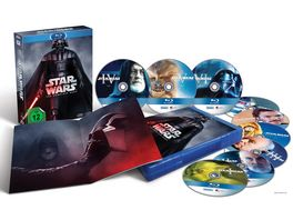 Star Wars The Complete Saga Blu ray Disc