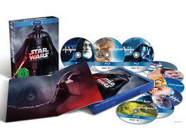 Star Wars The Complete Saga Blu ray Disc