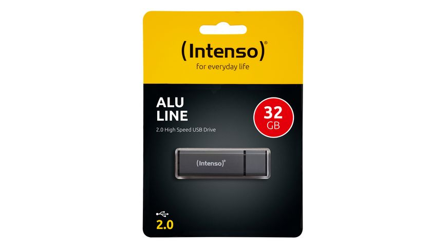 Intenso USB-Stick Alu Line 32 GB